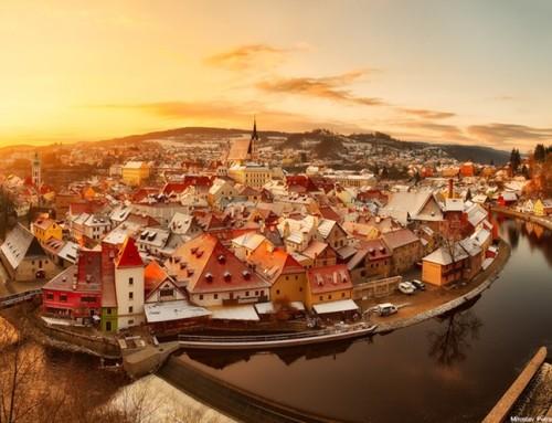 Zamanın durduğu şehir: Cesky Krumlov