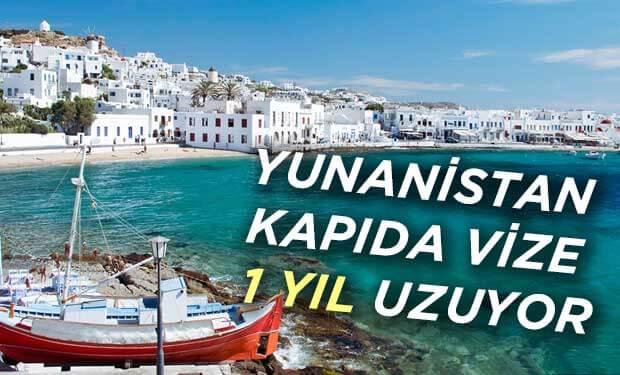 Yunanistan kapda vize