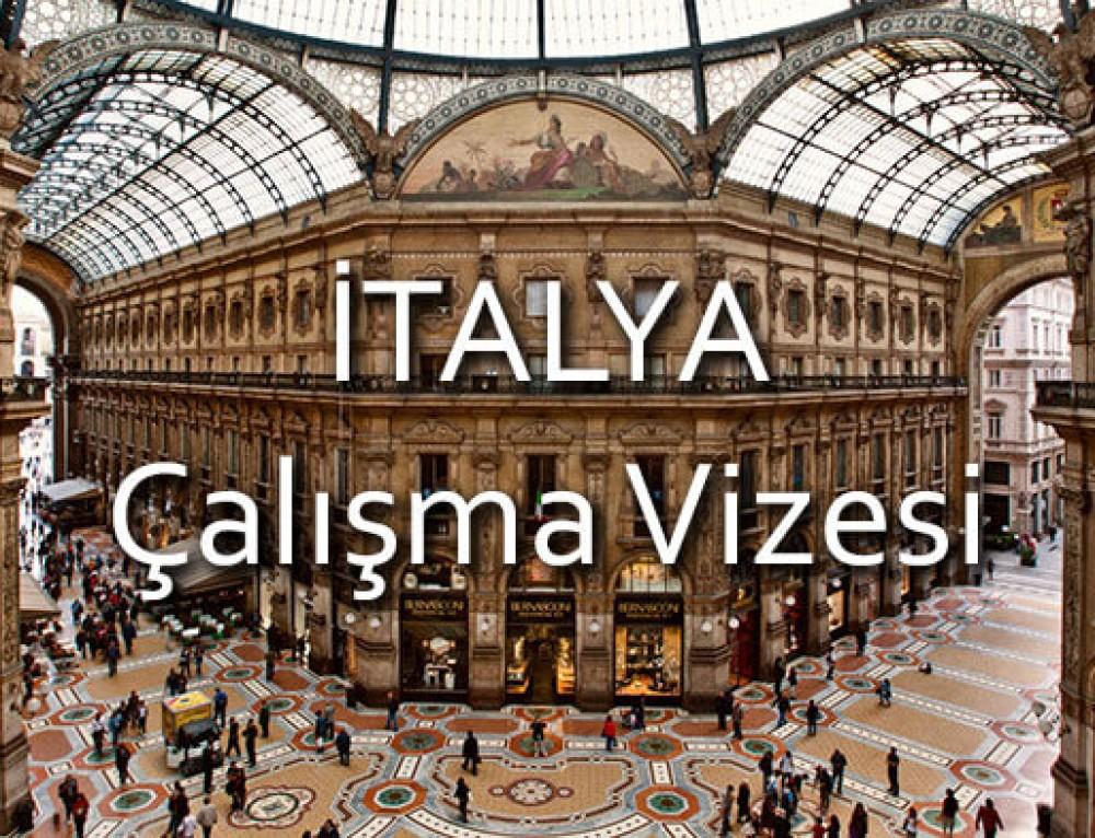 İtalya Çalışma Vizesi