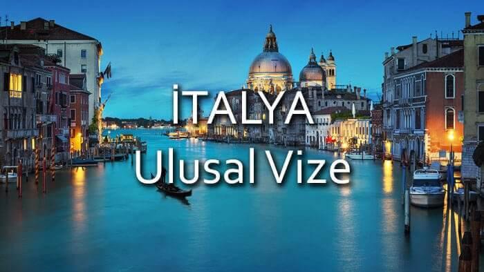 italya ulusal vize