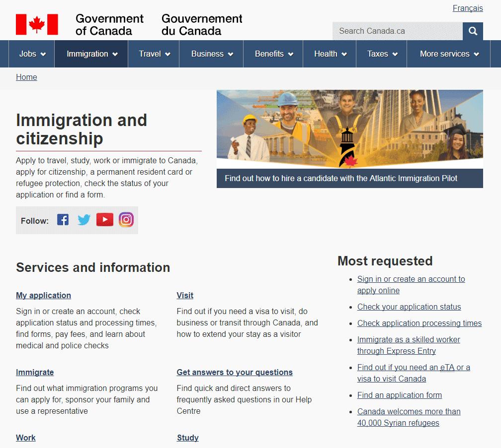 Kanada vizesi başvuru