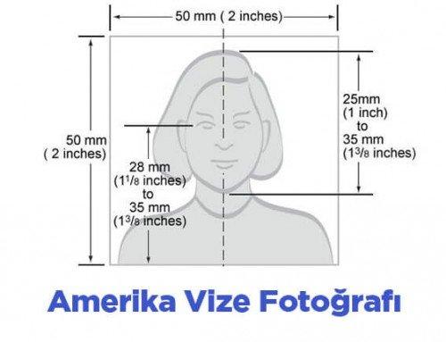 Amerika Vize Fotoğraf Özellikleri