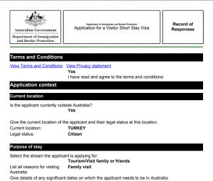 avustralya vizesi online başvuru formu