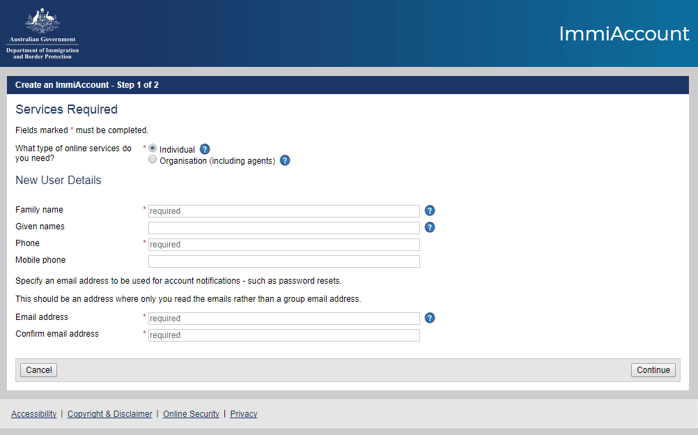 avustralya vizesi başvuru formu