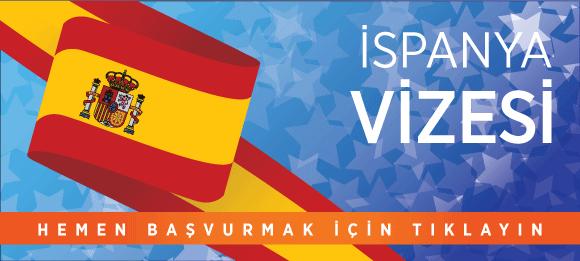 İspanya vizesi başvuru