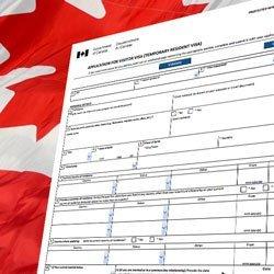 Kanada vize formu örnek doldurulmuş