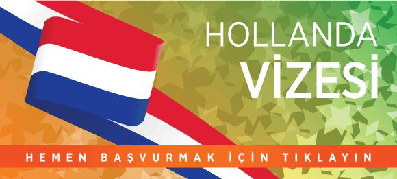 hollanda vizesine başvur