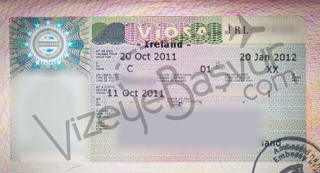 irlanda kısa dönem öğrenci vizesi