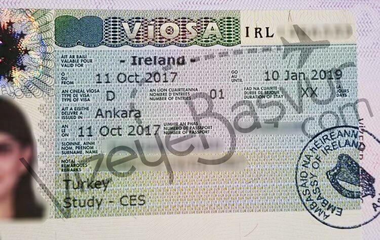 irlanda uzun dönem öğrenci vizesi
