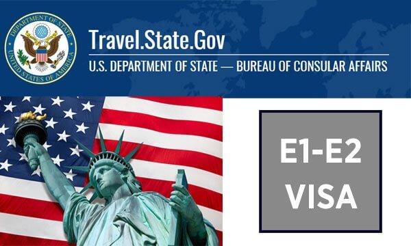 amerika e1 e2 çalışma vizesi