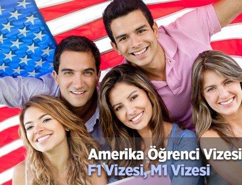 Amerika Öğrenci Vizesi (F1 Öğrenci Vizesi)